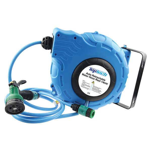 Top Tech Retractable 14m water hose
