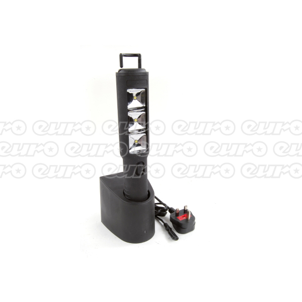 Euro Car Parts Rechargable Inspection Lamp with Stand.
