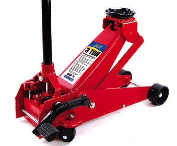 Top Tech 3 Ton Quick-Lift Trolley Jack