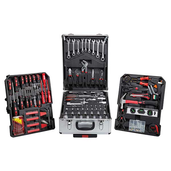 Top Tech 186pc Tool Set With Silver Aluminium Storage Case