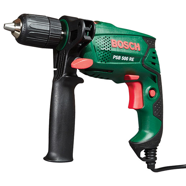 bosch compact hammer drill psb500 re. Black Bedroom Furniture Sets. Home Design Ideas
