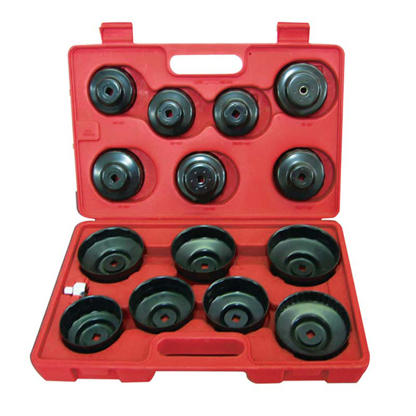 MasterPro 15 Piece Oil Filter Cap Wrench Set