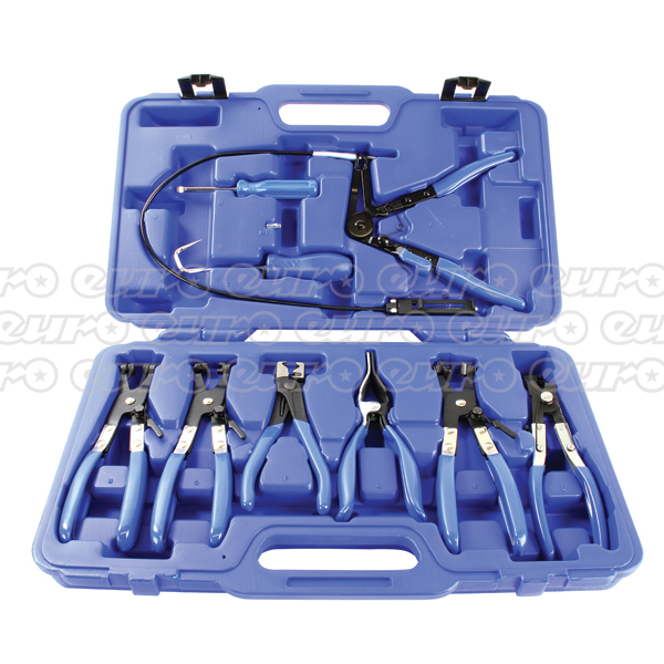 MasterPro 9 Piece Hose Clamp Removal Tool Set