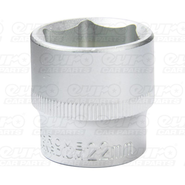 MasterPro Socket 1/2DR 22 mm standard 6 point