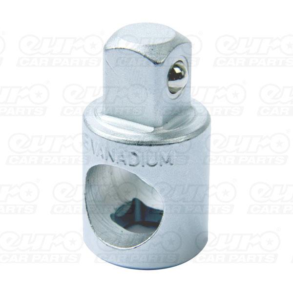 MasterPro Socket Convertor 3/8 F to 1/2 M