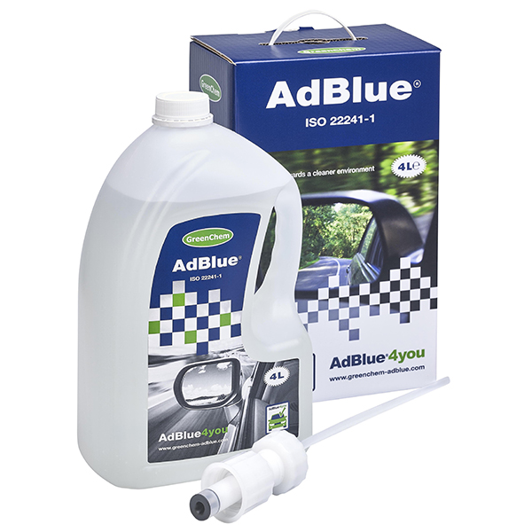 4Ltr Greenchem Ad Blue Starter Kit with Spout
