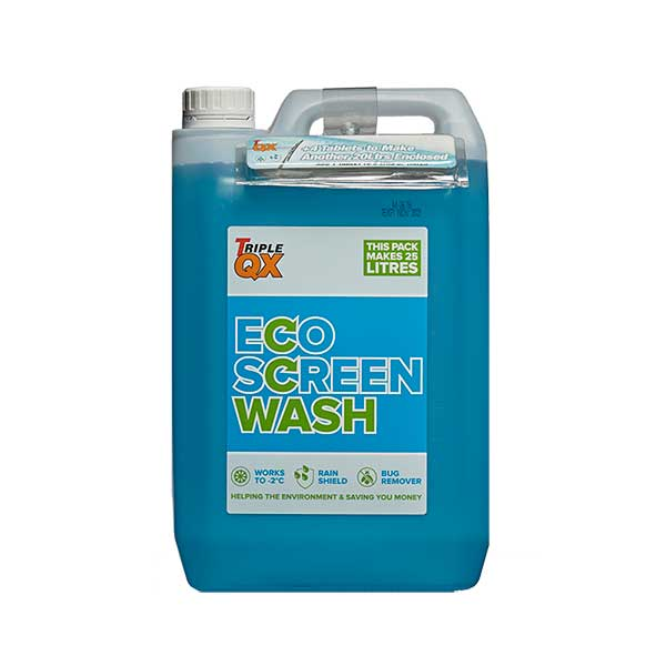 TRIPLE QX 5L screenwash with Tablets to make 20L Original