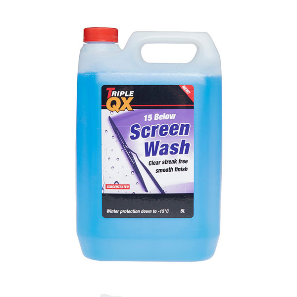 TRIPLE QX Concentrated Winter Screenwash (5 Litre) -15c