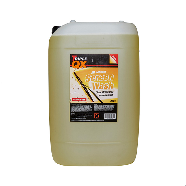 TRIPLE QX Ready Mixed Screenwash 25Ltr