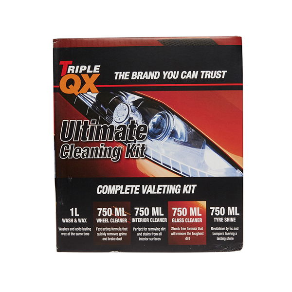 TRIPLE QX Deluxe Valeting Kit