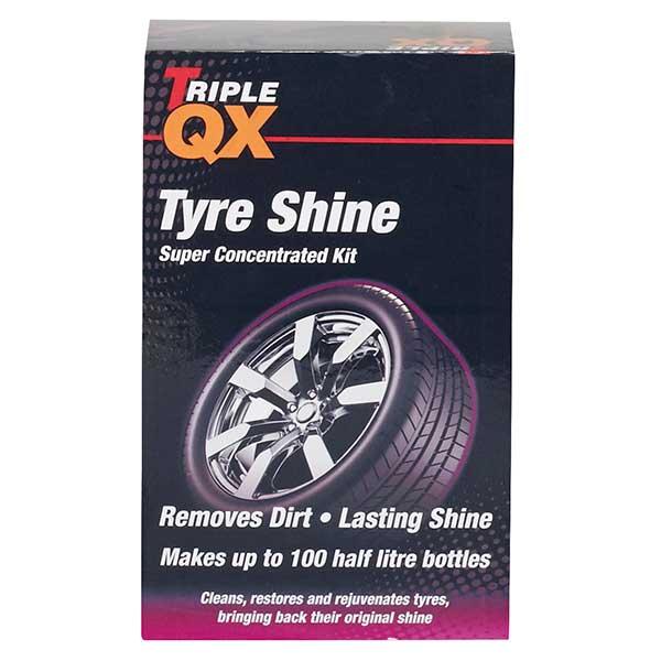 TRIPLE QX Black Tyre Shine 750ml | Car