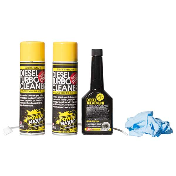Power Maxed Diesel Turbo Cleaning Kit