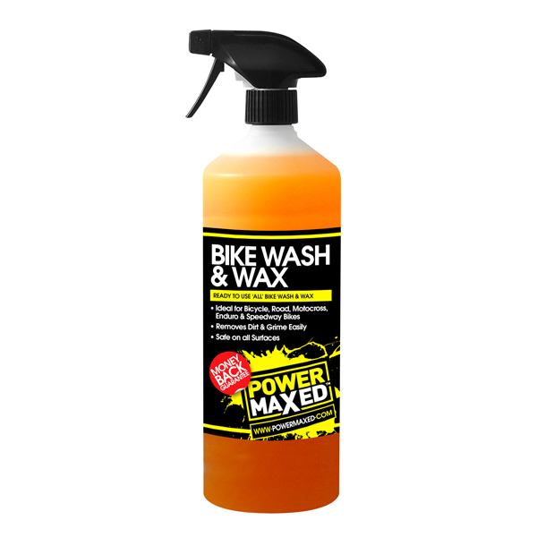 Powermaxed Bike Wash & Wax - 1Ltr