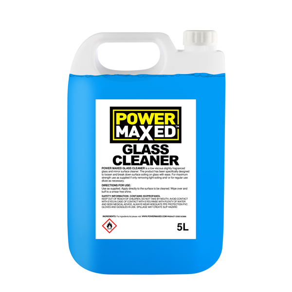 Powermaxed Window Glass Cleaner 30% - 5Ltr