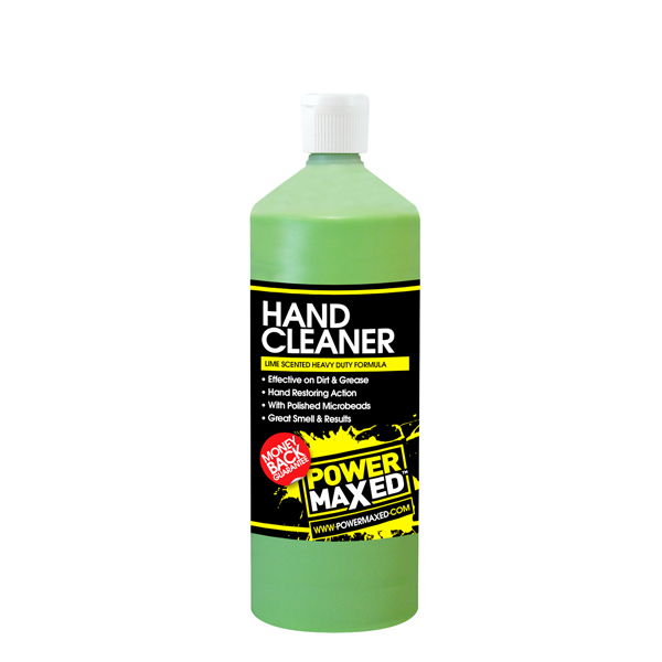 Powermaxed Lime Beaded Hand Cleaner - 1Ltr