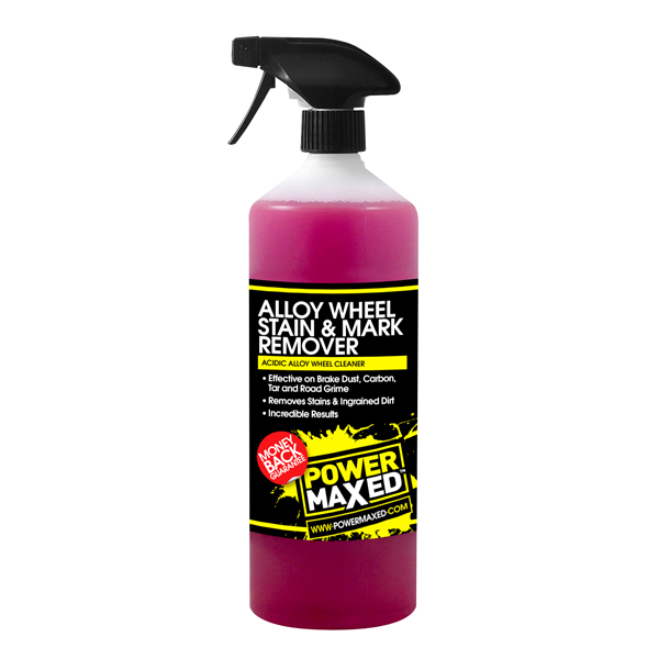 Power Maxed Alloy Wheel Stubborn Stain Remover - 1Ltr