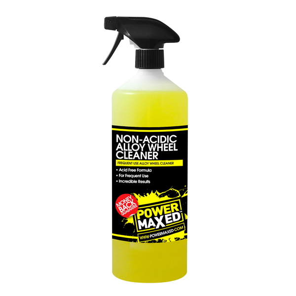 Powermaxed Frequent Use Non Acid Wheel Cleaner - 1Ltr