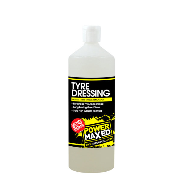 Powermaxed Tyre Dressing & Rennovator - 1Ltr
