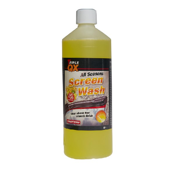TRIPLE QX -7c All Season Screenwash (Tutti Fruity) - 1ltr