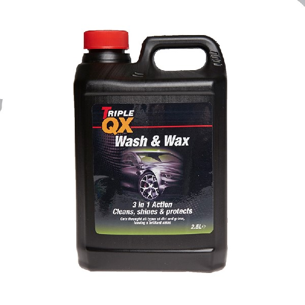 TRIPLE QX Wash & Wax - 2.5ltr