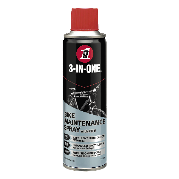 3 in One 250ml Bike Spray
