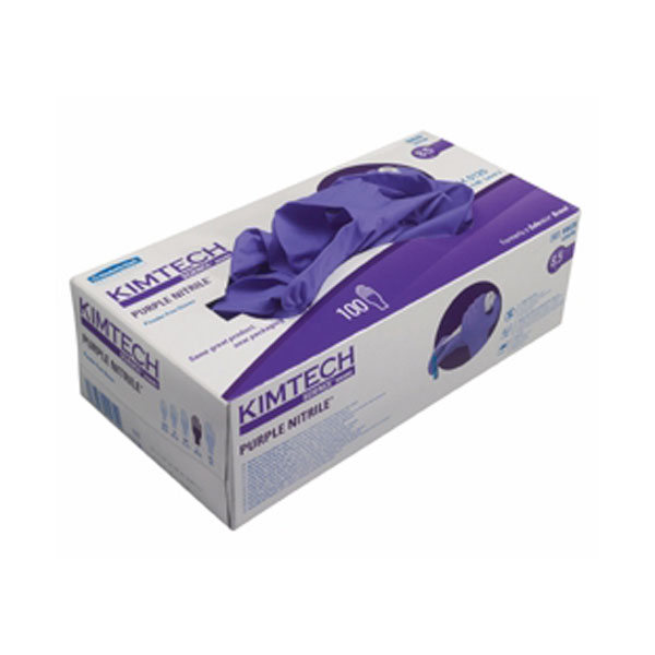 Kimtech Purple Nitrile Gloves Large