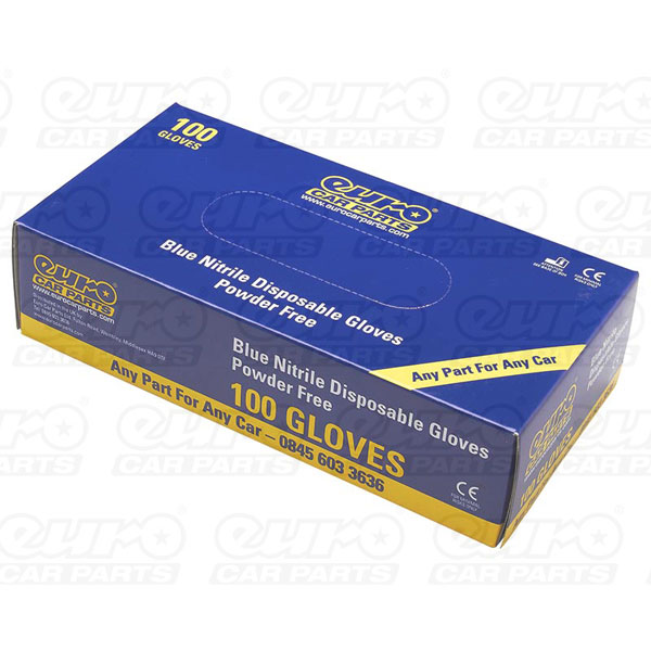 Euro Car Parts Box Of 100 Ecp P/ Free Nitrile Gloves Large
