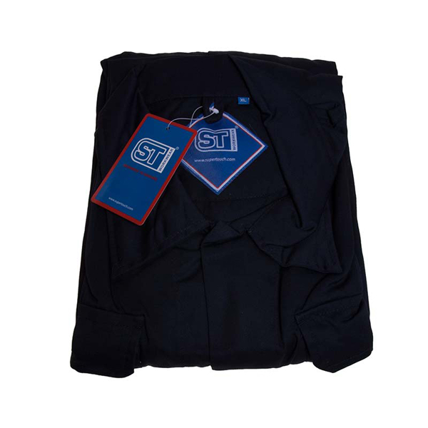 Polycotton Coverall Navy XL Regular Leg (79cm) Chest Size (116-122cm