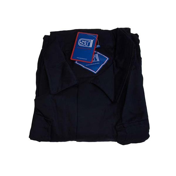 Polycotton Coverall Navy 3XL Regular Leg (79cm) Chest Size(136-144cm
