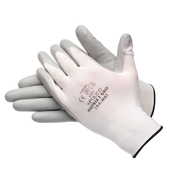 Euro Car Parts Pawa Dry Grip Gloves 101 10-Medium