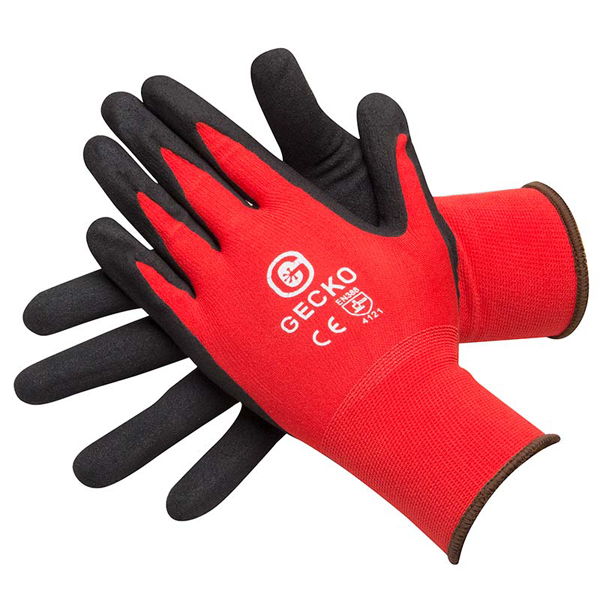 Gecko High Grip Beathable Gloves (Pair) - Size 9 Large
