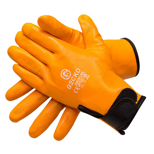 Gecko Gecko Fleece Lined Driver Gloves (Pair) - Size 8 Medium