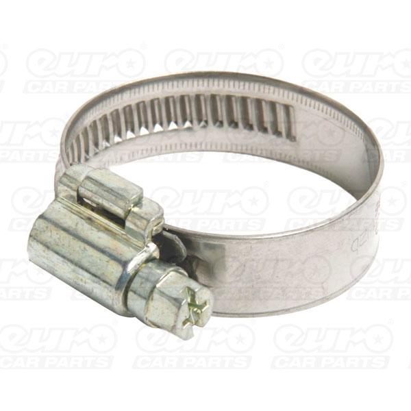 Euro Car Parts Hose Clips 1 25-35mm Qty10