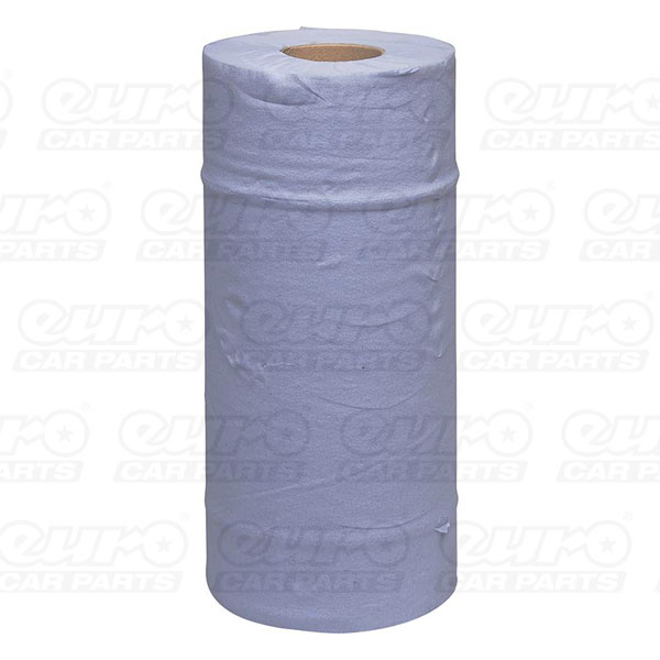 Euro Car Parts Blue Roll Workshop Wipes 2 Ply (250mm x 50mtr) - Single Pack