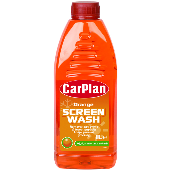 Carplan Orange Fragranced Screenwash Concentrated 1ltr