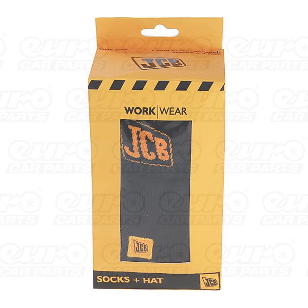 JCB Jcb Beanie Hat & Thermal Sock Pack
