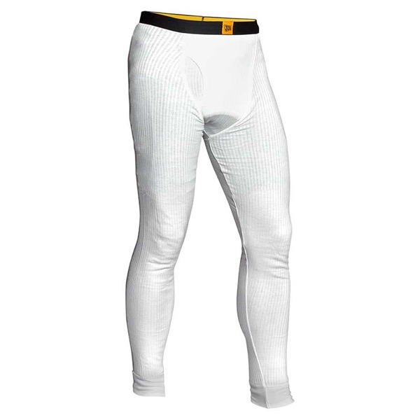 JCB White Thermal Long Johns Size M