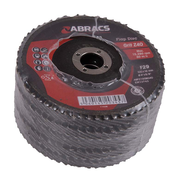 PF OF25 FLAP DISC 100mm x 40g