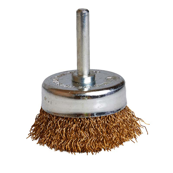 Qty 1 Spindle Mounted 50mm Cup Wire Brush