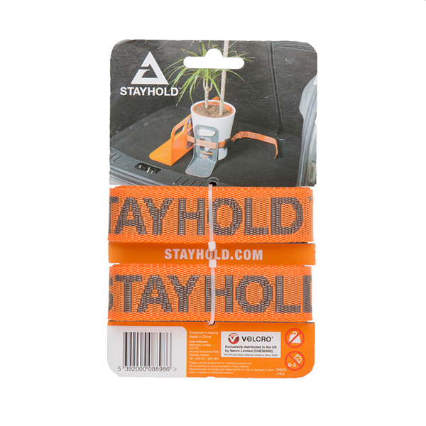 Stayhold Utility Straps x 2 Orange