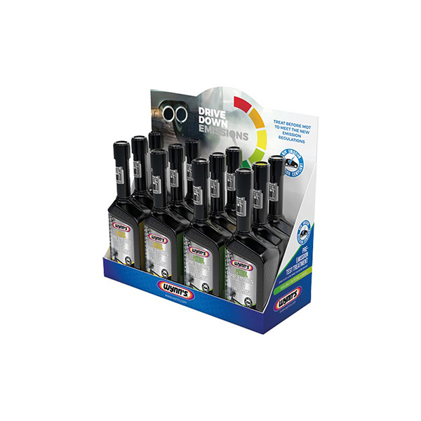 Wynns Drive Down Emissions Kit (Pack of 12 Bottles)