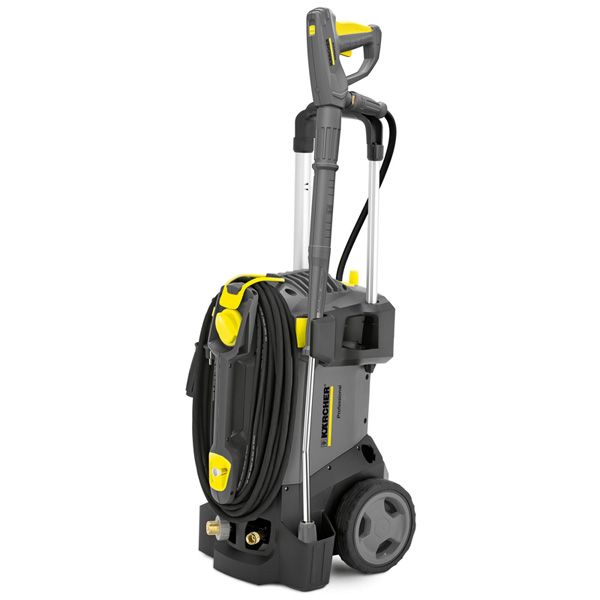Karcher HD 6/13 C Plus cold water pressure with hose reel