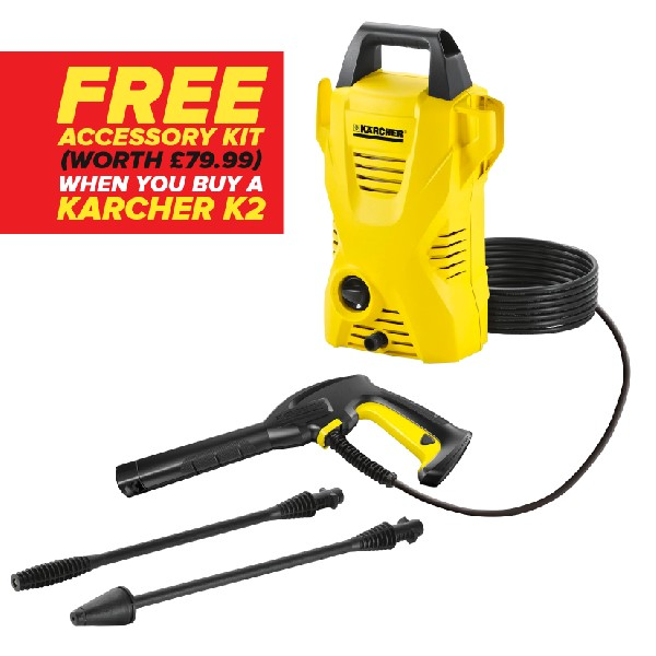 Karcher K2 Deluxe Compact Pressure Washer Bundle