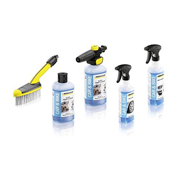 Karcher Deluxe Accessory & Valeting Kit - 5 Pack