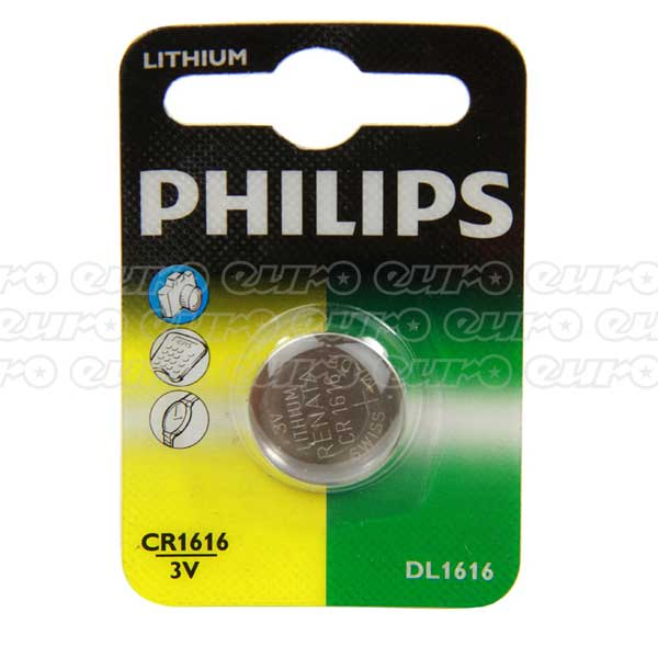 Philips CR1616 Lithium Mini Cell