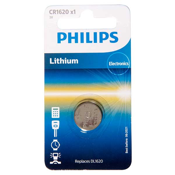 Philips CR1620 Lithium Mini Cell
