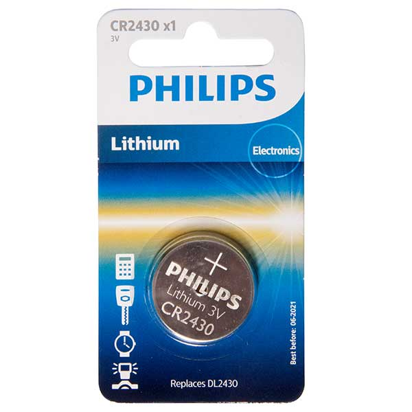 Philips CR2430 Lithium Mini Cell