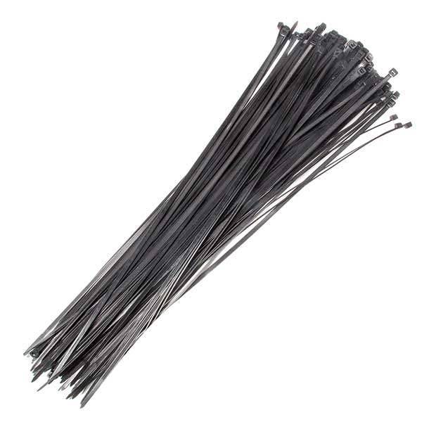 430 X 4.8mm Cable Tie Black Qty 100