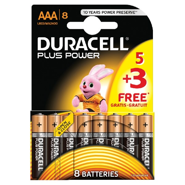 Duracell AAA Battery - 4 Pack