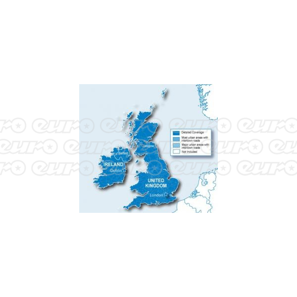 Garmin Memory Card - UK & Ireland Maps (SD & Micro SD)